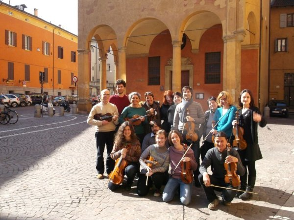 Workshop in  Bologna on the Havas New Approach to string playing