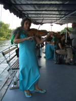 Music entertainment for a boat cruise party on river Thames, Oxford