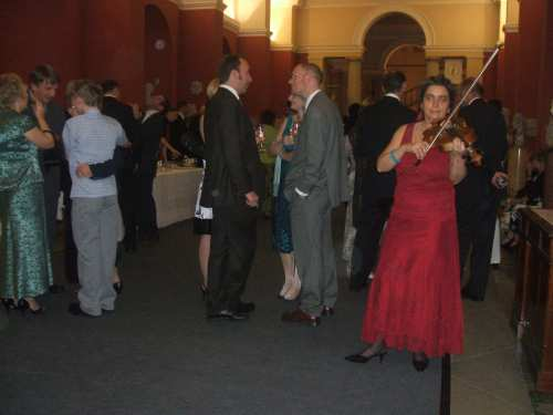 Classical music entertainment - Reception at Ashmolean Museum, Oxford