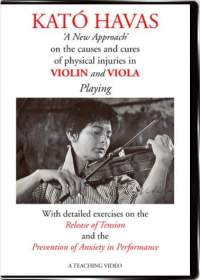 Havas New Approach teaching DVD. How to eliminate physical tensions and stage fright related to string playing, violin and viola in particular
