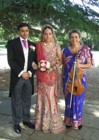 Another Asian wedding ceremony with Bolliwood songs, near Oxford