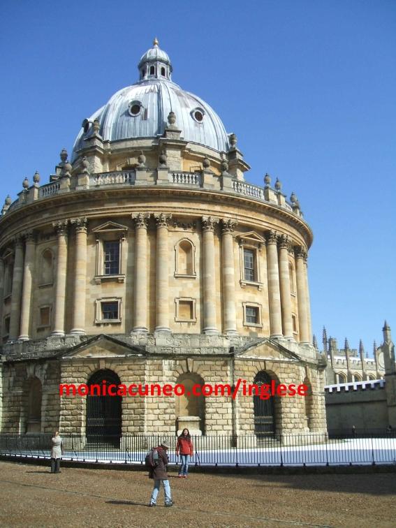 Corso di inglese a Oxford. Radcliffe Camera