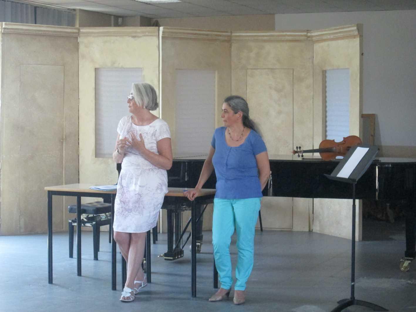 Seminario a Frosinone: Jill Comerford, già prima viola dell'Arena di Verona, parla di come il Nuovo Approccio Havas l'ha aiutata