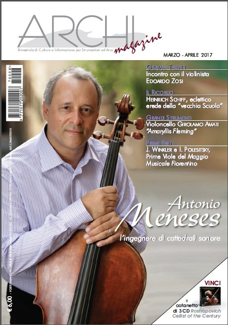I translated an article by Florian Leonhard on the Amaryllis Fleming Amati cello for the Italian Archi Magazine