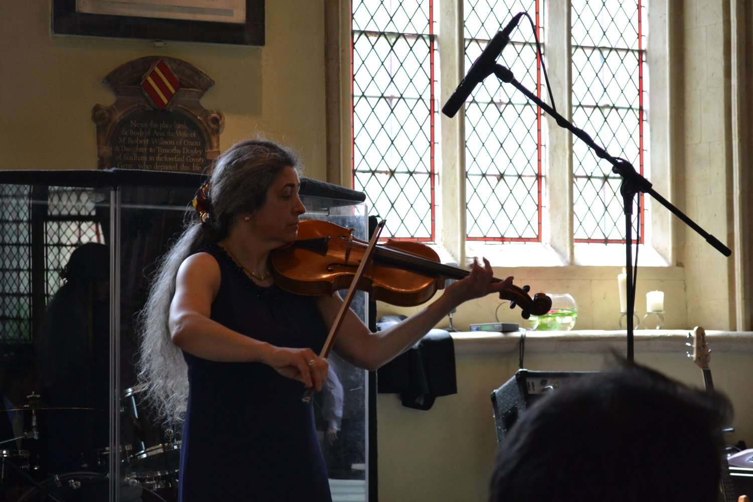 The viola is a wonderful instrument for your wedding music. Here I am playing at a wedding ceremony in a Church in Oxford