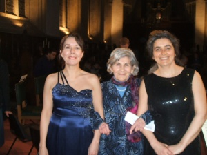 Caroline Duffner, Kato Havas, Monica Cuneo