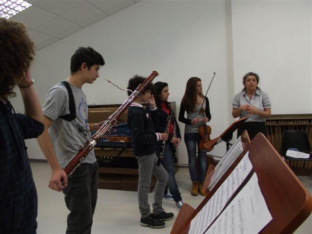 Fiati al seminario a Sassari