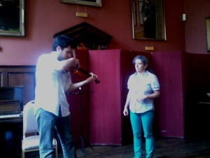 New Approach violin workshop in Oxford