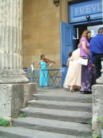 Classical music entertainment for a reception in Oxford