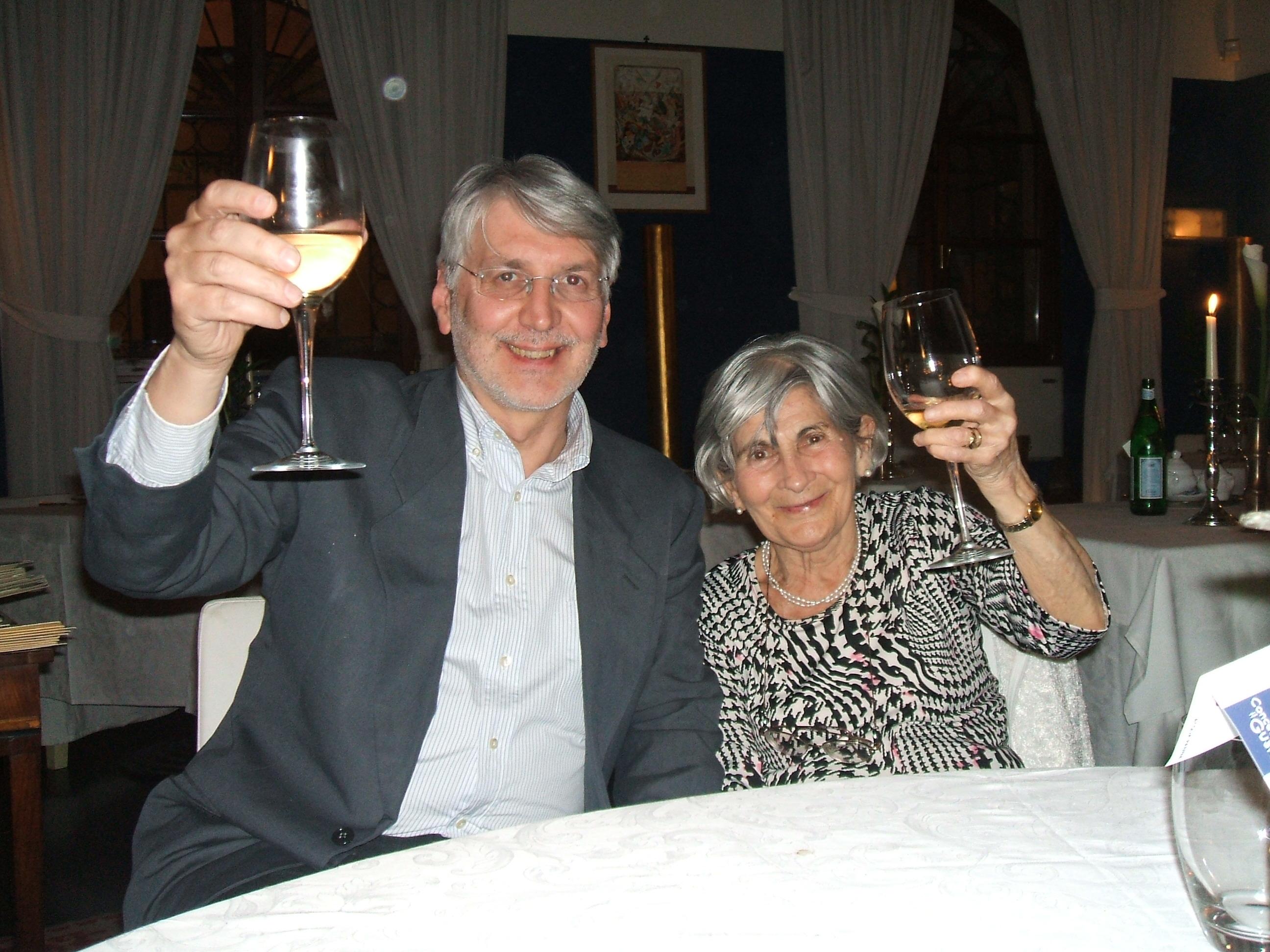 Kato Havas e Roberto Moro. Congresso ESTA 2008 a Cremona
