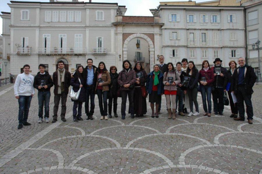 Seminario sul Nuovo Approccio Havas tenuto nel Palazzo Ducale di Atina da Monica Cuneo