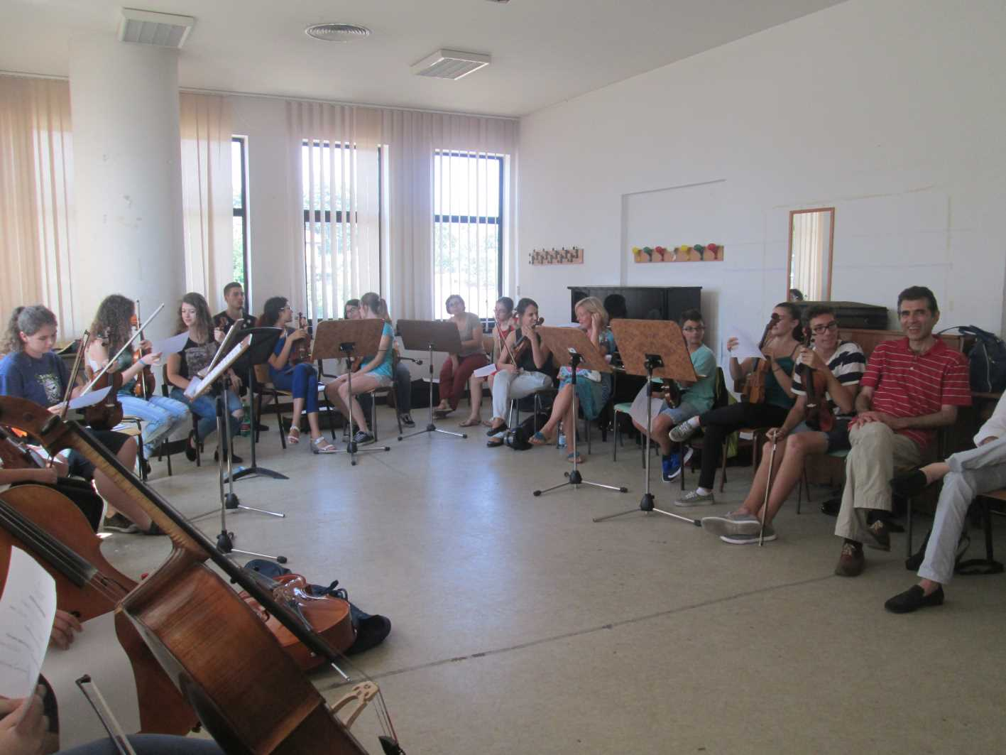 Un altro momento del seminario di Frosinone sul Nuovo Aproccio Havas